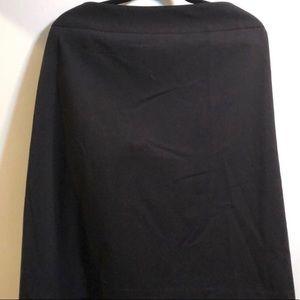 NWT Never Worn - Liz Claiborne Black Pencil Skirt